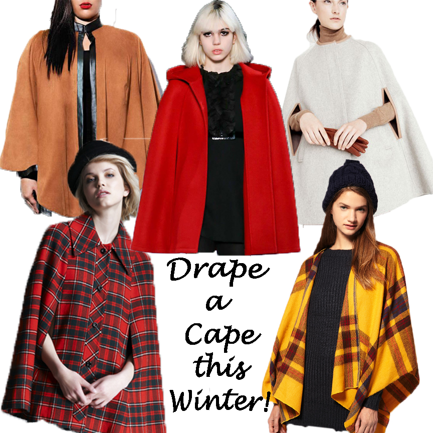 The cape has been in fashion for quite a while, but you are probably visualising it as a piece of cloth that can be worn only by Superman. Well this fall/winter, capes have gone sportier, more chic, with a sexy slit and sleek tailoring techniques. Some of them even have bold epaulets, and structured cuts. In fact, they come with vents to put your hand out and ease movement.